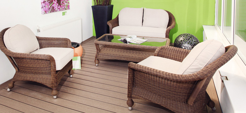 TimberTech decking showroom