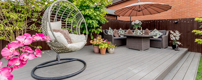 Composite Decking - Free Samples - Sale Now On - TimberTech UK on Deck Inspiration  id=78656