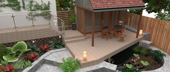 3d design for outdoor living