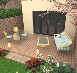 outdoor living 3d design