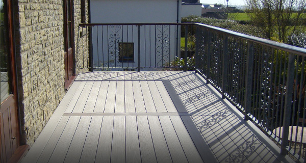 Types of decking after