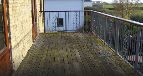 Types of decking before