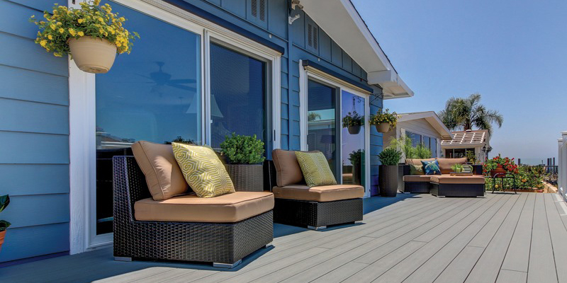 Deck inspiration with outdoor furniture