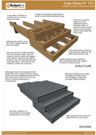 TimberTech Decking Step Construction Detail