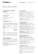 TimberTech Decking Material Safety Data Sheet