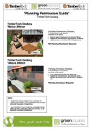 TimberTech decking planning permission guide