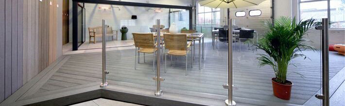 Our decking showroom